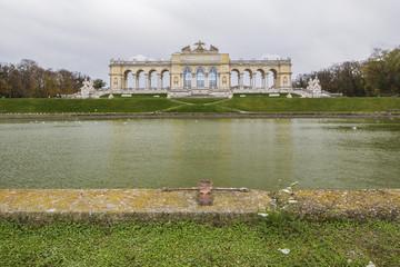 Gloriette in Schonbrunn Palace, Vienna, Austria