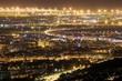 canvas print picture - Die Lichter der Stadt I