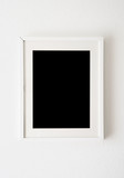 empty white frame