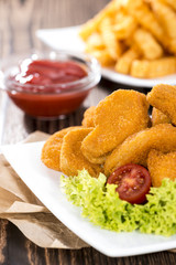Chicken Nuggets (with Chips)