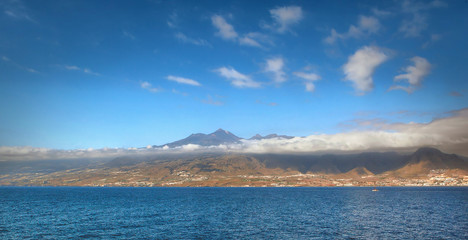view of the island of Tenerife