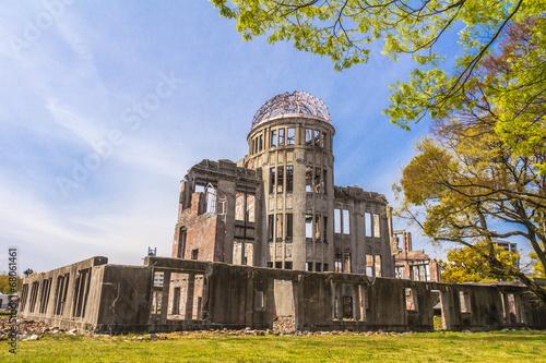 Atomic bomb ruins in Hiroshima Japan - 68061461