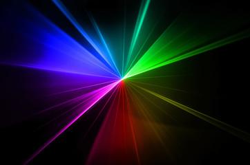multicolor rainbow laser