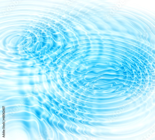 Water ripples abstract background © Dinadesign