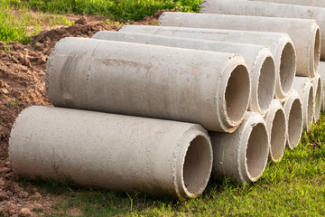 Multiple Cement Tubes lined