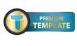 Premium Template Button