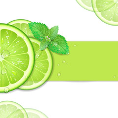 background of lime