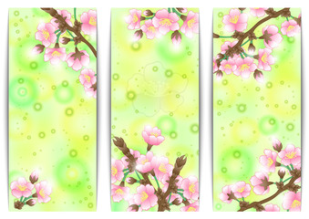 Apple tree banners