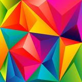 Fondo abstracto con relieve poligonal - 68067008