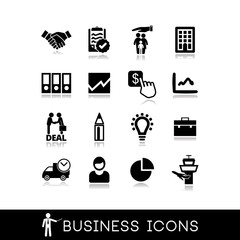 Business services icons