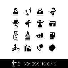 Business icons
