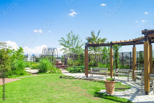 Foto op Plexiglas Tokyo Rooftop garden