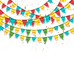Festive Bunting Background 5