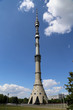 Постер, плакат: Ostankino television tower in Moscow Russia