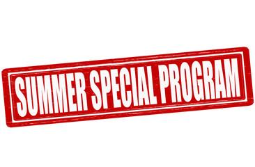 Summer special program
