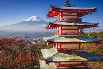 Mt. Fuji in the Fall