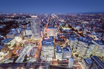 Sapporo, Japan Cityscape in Central Ward