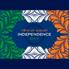happy independence day greeting background