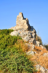 photo of rock on Samos island