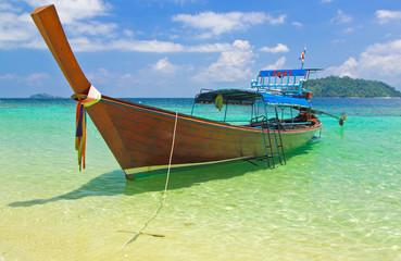 Taxi on the sea at Andaman,Thailand