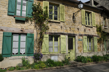 Ile de France, the picturesque village of Auvers sur Oise