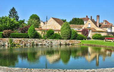 France, the picturesque village of Thoiry