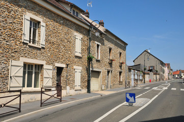 France, the picturesque village of Courdimanche