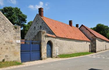 France, the picturesque village of Gadancourt