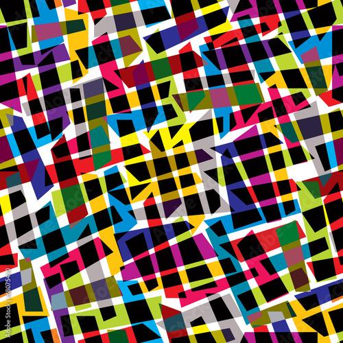 Fotobehang Kunstmatig Abstract colorful seamless pattern, vector background.