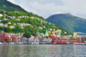 Norway. City-view of Bergen