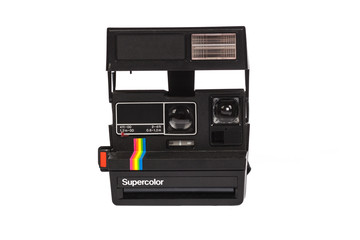 old instant camera