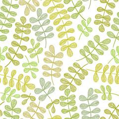 Simplistic floral pattern.