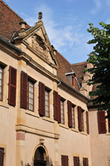 alsace, the picturesque village of Molsheim