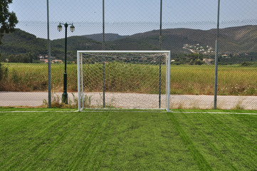 soccer goalpost