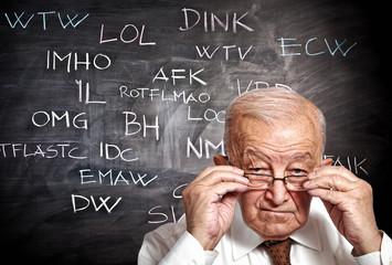 old man and slang