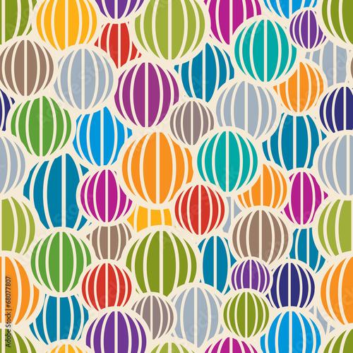 Staande foto Kunstmatig Color spheres seamless pattern.