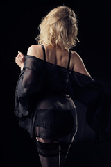 femme en lingerie sexy