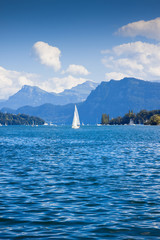 View of Lucerne Lake - Switzerland