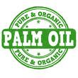 Palm oil  stamp