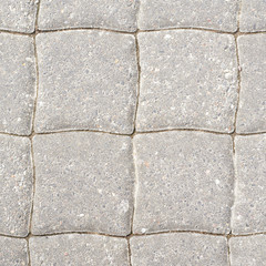 Stone tile floor paving