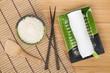 Japanese food ingredients and utensils