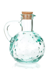 Olive oil empty bottle