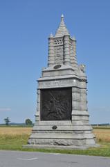 6th New York Calvary Memorial, located at Gettysburg