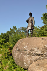 Little Round Top Memorial, located at Gettysburg