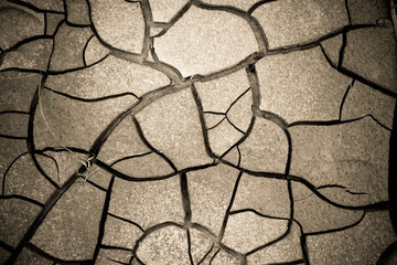 Cracked ground: the effects of drought