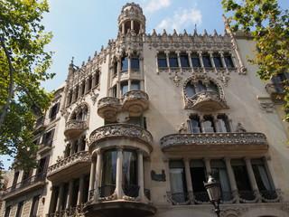 La Casa Lleó Morera - Barcelone