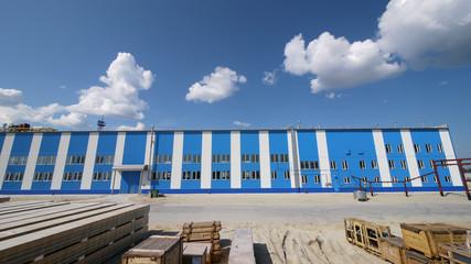 RUSSIA, NADYM - JUNE 6, 2011: Ñorporation GAZPROM in Novy Urengo