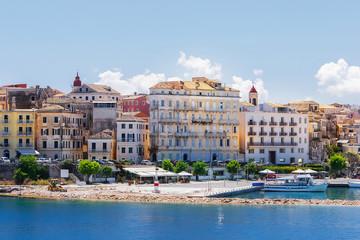 Corfu, capital town of Corfu island