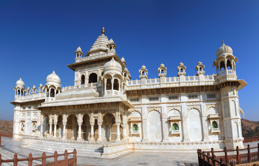 Jaswant Thada mausoleum in India - panorama