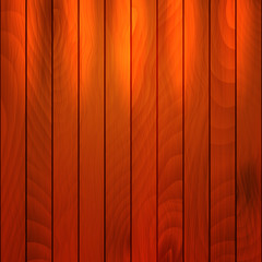 Wooden texture with spotlight. EPS 10